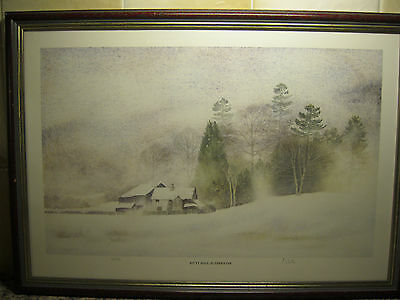 """""""kitty Hall - Elterwater"""" Limited Edition Framed Signed Print By """"colin Whittle"""""""