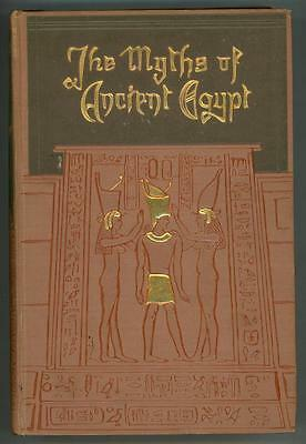 Myths & Legends of Ancient Egypt by Lewis Spence (Illustrated) Evelyn Paul