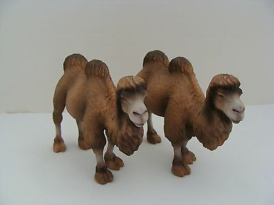 Set Of 2 Schleich Bactrian Camel Figures 2004