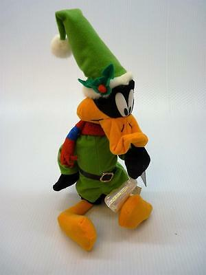 "Daffy Duck Christmas Trumpet Looney Tunes Plush Stuffed Toy 18"" Nanco (B463)"