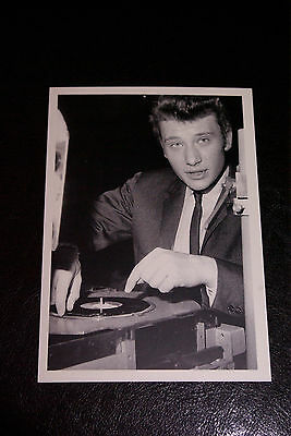 carte postale JOHNNY HALLYDAY N°075