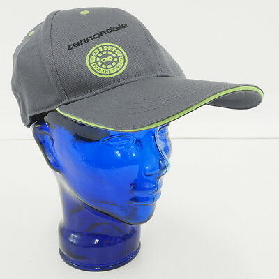 NEW! Cannondale 'Urban' Cycling Bicycling Cycling Fitted Hat GRAY