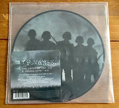 """My Chemical Romance -  The Ghost Of You 7"""" Picture Disc Vinyl"""