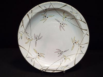 "Set of (8) Midwinter Wild Orchid 10 1/4"" Dinner Plates"