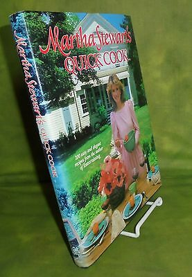 2 martha stewart's books QUICK COOK and Healthy Quick Cook