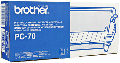 Brother Pc 70 With Thermal Transfer Ribbon New