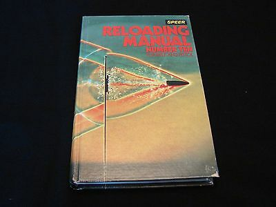 vintage Speer reloading manual number ten for rifle & pistol. 560 pages 1979