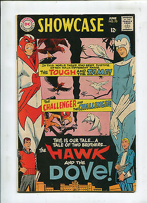 Showcase #75 - Ditko Hawk and Dove 1st App - (6.5) 1968
