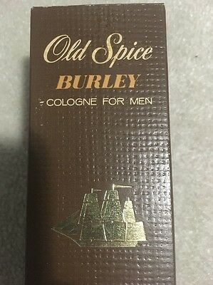 Old Spice Burley Cologne. Vintage. Boxed. Shulton