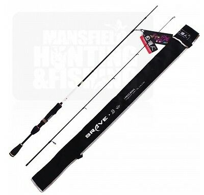 Brave Rod Series 1 6Ft Ultra Lite Spin Rod - Trout Fishing - Lbrs2-602Ul