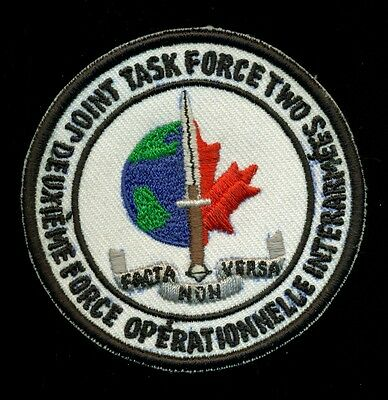 JTF2 CSOR CAnadian Deuxieme Force Operationnelle Interarmees Canada Patch S-22