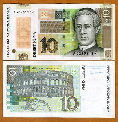 Croatia, 10 Kuna, 2004, P-45, UNC   Commemorative