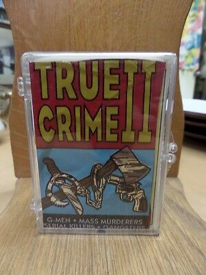 COLLECTOR CARDS BOX TRUE CRIME SERIES II / #111 - 220 COMPLETE*EX-MT Free Ship
