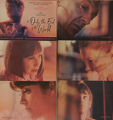It's Only The End Of The World Film Postcards Gaspard Ulliel Nathalie Baye