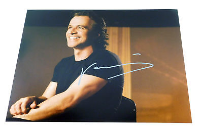 Yanni Signed 11 x 14 Color Photo Pose #1 Auto