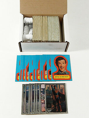 Over (200) 1978 Topps Superman The Movie Insert Sticker Cards