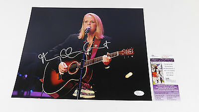 Mary Chapin Carpenter Signed 11 x 14 Color Photo Pose #2  JSA Auto