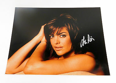Lisa Rinna Signed 11 x 14 Color Photo Pose #4 Auto