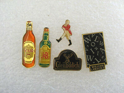 5 Pin's Whisky : Jb Grants Johnny Walker ...  Boisson Alcool Alcohol Pins Pin P7