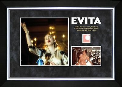 Section of a dress worn by Madonna in the ''Evita''