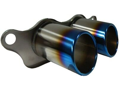 REAL TITANIUM TAIL PIPES - PORSCHE 911 997 GT3 + GT3 RS for bolting