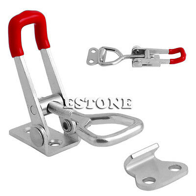 1pc GH-4001 Quick Toggle Clamp Clip 100Kg 220Lbs Holding Metal Latch Hand Tool