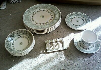 Collection of Masons Madrigal crockery