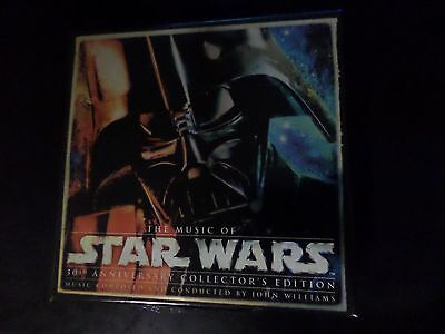 CD BOX SET - John Williams - The Music Of Star Wars 30th Anniversary Collectors