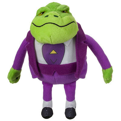 Danger Mouse Small Plush with Sound: Baron Greenback NEW