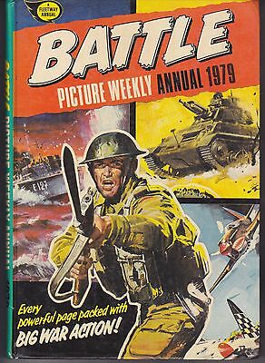 Battle Picture Weekly Annual 1979 Fleetway Hardcover Annual