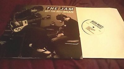 The Jam ‎– Set The Ritz Ablaze RARE LP
