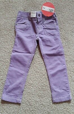 Marks and Spencer lilac jeans. Trousers. BNWT age 2-3