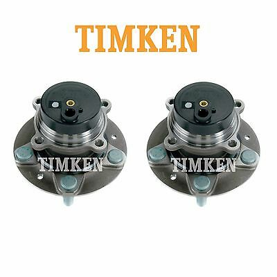 Mazda RX-8 09-11 Pair Set of 2 Front Wheel Bearings and Hub Assemblies Timken