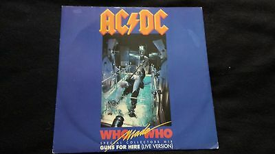 "AC/DC - Who Made Who - 12"" Vinyl Single *Picture Cover*"