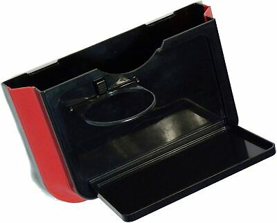 Foldable Pop-Out Car Pocket with Folding Tray and Cup Holder - By TRIXES
