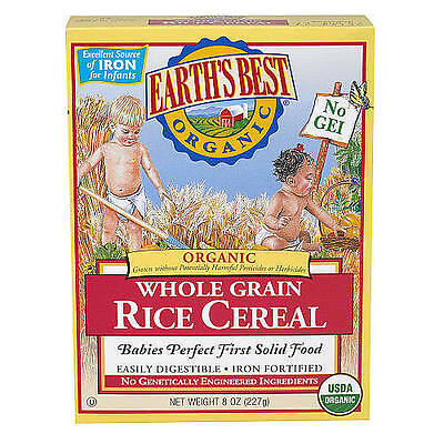 Earth's Best Organic Infant Rice Cereal - 8 Ounce