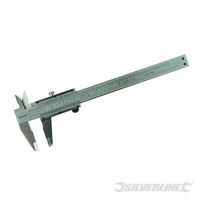Vernier Caliper High Carbon Steel  0 - 150 x 0.02mm  Comes with storage case