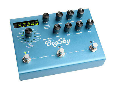 Strymon Big Sky Reverb Effects Pedal (NEW)