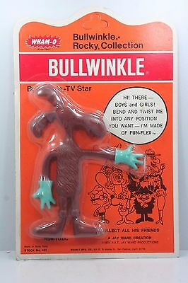 Vintage 1972 Wham-O Bullwinkle Figure Pose-able Bendable #451 - NIP