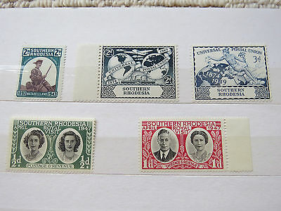 Southern Rhodesia Unmounted Mint Stamps