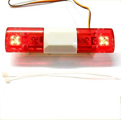 LY501a 1/10 Body Shell Direct Roof Mount RC Police Light Bar LED Rotational Red