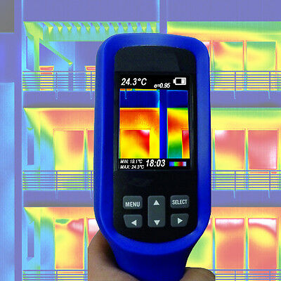 Infrared Thermal Imaging Camera Energy Consultants Ir Color Detector Saving  Ir3
