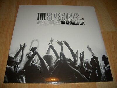 *SEALED* The SPECIALS MORE OR LESS LIVE 2 x VINYL LP 2-tone two ska Mod Madness