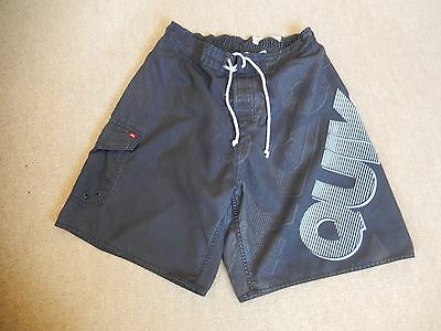 Mens Quiksilver Navy Swimming Shorts Size M