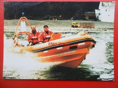 Postcard Clovelly Lifeboat - Self Righting Artic 18