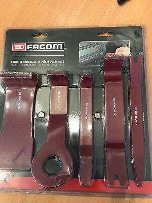 Facom Tools Bodywork Auto Door Trims Boot Trim Removal Tool Kit