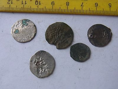 5x Medieval Coins
