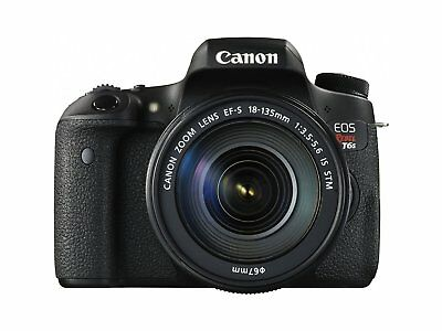 Canon EOS Rebel T6s 24.2MP DSLR Camera with 18-135mm Lens