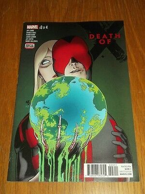 Death Of X #3 Marvel Comics