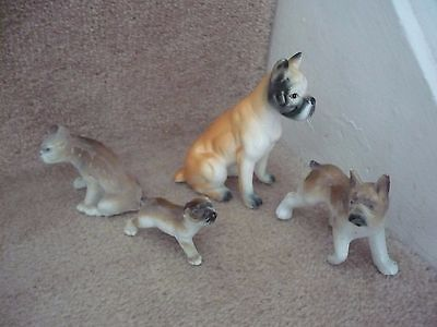 A Collection Of Four Boxer Dogs A Great Addition For Any Collection